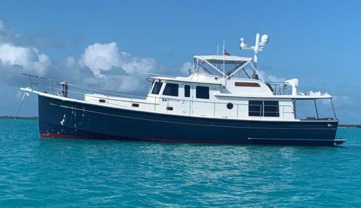 Seagull, 5217, at Anchor in the Bahamas