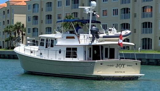 Joy Port Aft Quarter Cropped